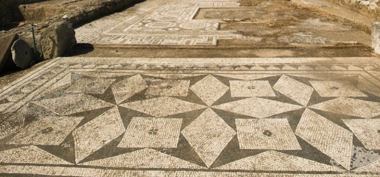 Roman ruins of Cerro da Vila, in Loulé