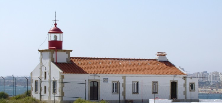 Lighthouse of Ponta do Altar, in Lagoa